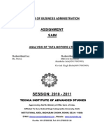 Assignment Saim(tata motors)