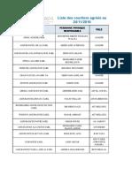 Liste Courtier Au 24-11-2016