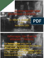 Hemorragias de la segunda mitad del embarazo.ppt