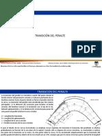 TRANSICION DE PERALTE, CURVA ESPIRAL, DISEÑO EN PERFIL Y SECCIONES