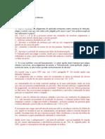 Estudo dirigido - RECURSOS GABARITO
