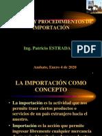 GESTIÓN Y PROCEDIMIENTOS DE IMPORTACIÓN