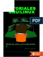 Tutoriales GNU_Linux_ Hacking p - Marcelo Fortino