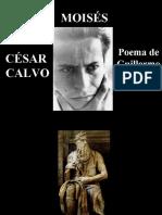 César Calvo - Moisés - Poesía