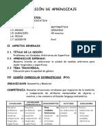 SESIÓN DE APRENDIZAJE -primaria- MATEMATICA SEGUNDO.doc