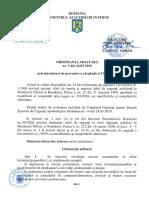 Ordonanta Militara 3/24.03.2020 Privind Masuri de Prevenire a Raspandirii COVID-19