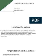 La civilización azteca