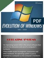 Evolution of Windows