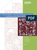 Case Study_Warli Painting – a means of earning a sustained livelihood for the Warli Tribal Community