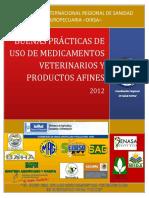 MANUAL BUENAS PRÁCTICAS DE USO DE MEDICAMENTOS VETERINARIOS -OIRSA-