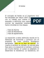 El Estrés, Informacion General.docx