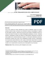 2017.FCHS. LAS FUNCIONES DEL TRABAJADOR SOCIAL EN EL CAMPO DE SALUD