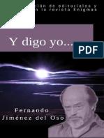 Y Digo Yo - Fernando Jimenez Del Oso