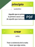 Tarjetas de vocabulario