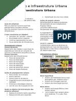 Urbanismo e Infraestrutura Urbana - Infraestrutura.docx