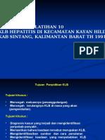 lATIHAN 10 (HEPATITIS  SINTANG Kal bar)