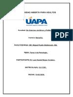 Tarea 5 de Penología y Derecho Penitenciario, Luis Daniel Reyes.