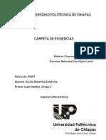 Carpeta de evidencias funciones matematicas
