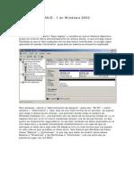 RAID 1 en Server 2003