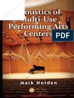 Acoustic of multi use performing arts centers.pdf
