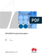 RRU5258 Product Description Draft A(20180925)