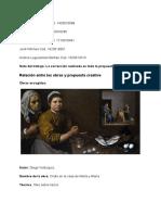 Relacion y propuesta final apreciacion del arte