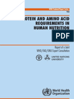 Protein Requirements in Human Nutrition