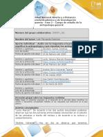Antropologia Formato respuesta avance - Fase 2