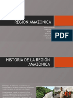 COSTUMBRES Y CULTURA Amazónica