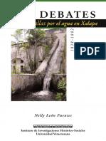 Leon, Nelly - Debates y batallas por el agua en Xalapa