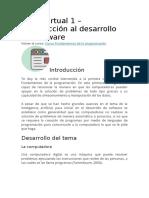Clase virtual 1 programación