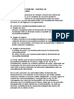 Casos de Derecho Constitucional Argentino (2º año)