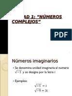 49numeros imaginarios y complejos 3 medio.ppt
