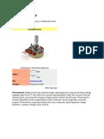 Potensiometer
