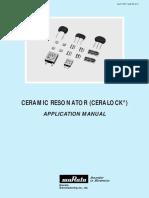 Ceramic Resonator - Ceralock -312547
