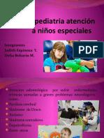 Odontopediatria atención a niños especiales