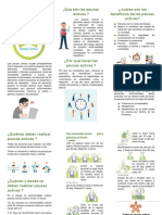 folleto pausas activas