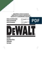 DWE4887 Instruction Manual