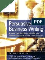 Persuasive Business Writing