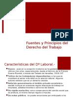 Características, Fuentes y Principios del Dº del Trabajo