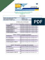 CALENDARIO DE ENTREGA DE ACTIVIDADES