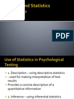 Norms and Statistics Refresher