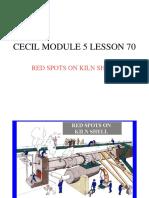 178666399 171988946 Cecil Module 5 Lesson 70 Red Spots on Kiln Shell PDF