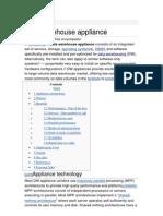 Data Warehouse Appliance