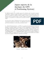Physique Agrégation Externe Problème 2017 (Enoncé)