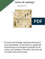Presentacion Alumnos Camino Santiago