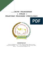 JUKLAK PELATIHAN STERILISASI PERSISI