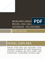 MENGIMPLEMENTASIKAN MODEL REA DALAM DATABASE RELASIONAL