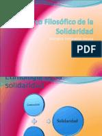 Marco Filosófico de la Solidaridad