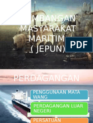 Sumbangan Masyarakat Maritim